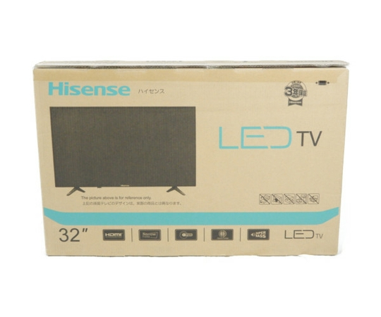 未使用 【中古】 Hisense ハイセンス 32A50 ハイビジョン LED 液晶 テレビ 32型 映像 機器  K3667907
