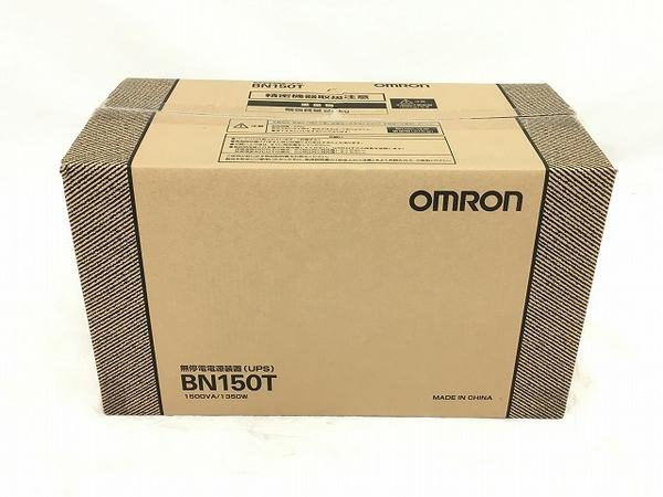 未使用 【中古】 オムロン 無停電電源装置 BN150T 据置型  W3920516