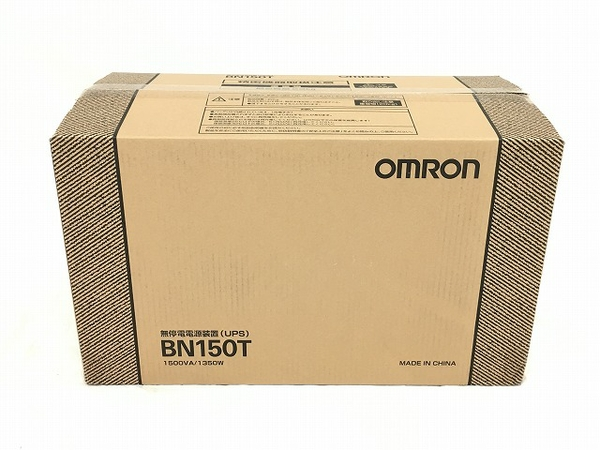 未使用 【中古】 オムロン 無停電電源装置 BN150T 据置型 未使用 W3920517