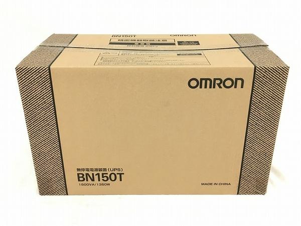 未使用 【中古】 オムロン 無停電電源装置 BN150T 据置型  W3920518