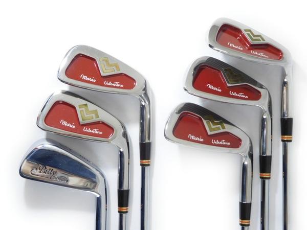【中古】 mario valentino golf clubs 8 irons ゴルフクラブ アイアン 6本 セット N2920851