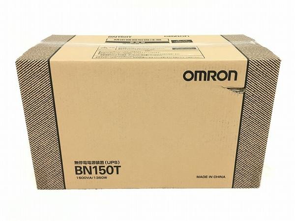 未使用 【中古】 オムロン 無停電電源装置 BN150T 据置型  W3920520