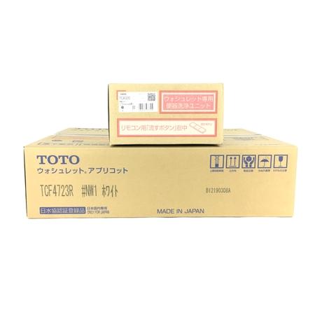 未使用 【中古】 TOTO TCF4723AKR (TCF4723R+TCA320) ウォシュレット アプリコット #NW1 ホワイト Y3904728