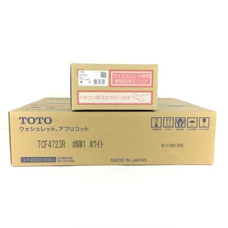 未使用 【中古】 TOTO TCF4723AKR (TCF4723R+TCA320) ウォシュレット アプリコット #NW1 ホワイト Y3904730