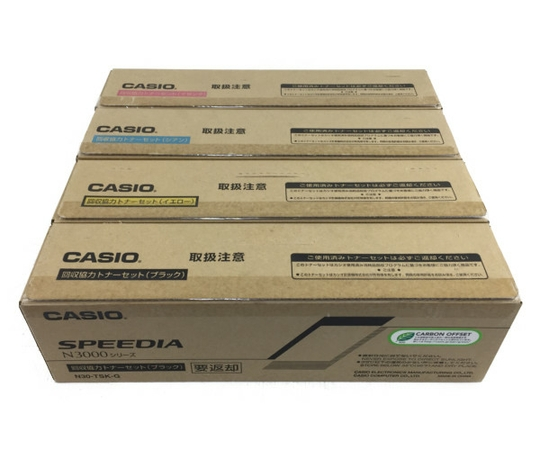 未使用 【中古】 CASIO SPEEDIA N3000シリーズ N30-TSK-G N30-TSM-G N30-TSC-G N30-TSY-G 4色セット N3921767