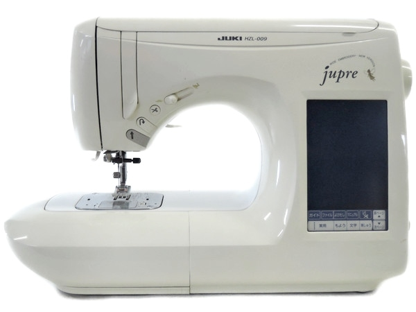 超人気の 【】 JUKI jupre HZL-009 ミシン 家庭用 ケース付 ホワイト Y1905117, レッドハンマー 30578f61