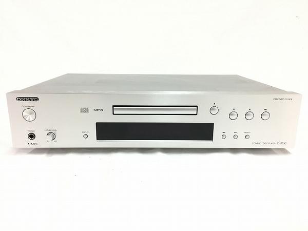 【中古】 ONKYO CD プレイヤー C-7030 オーディオ 音響 VLSC プリシジョンクロック T3462083