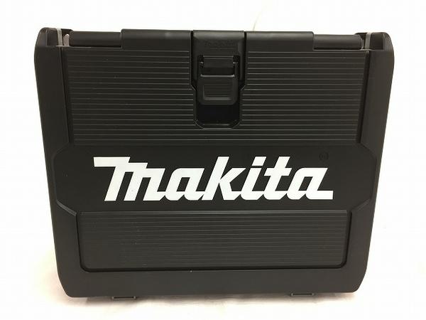 未使用 【中古】 makita マキタ TD171DRGXB 充電式 6.0Ah インパクトドライバー 電動工具 ブラック T3540116