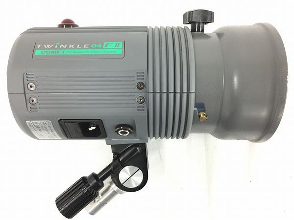 【中古】 COMET コメット TWINKLE FII 04 ストロボ モノプロックストロボ アンプレラ 発光確認済み T3396107