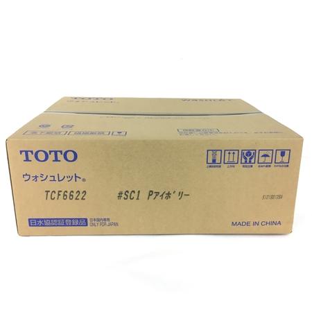 未使用 【中古】 TOTO TCF6622 温水便座 ウォシュレット ピュアレスト アイボリー Y3921147