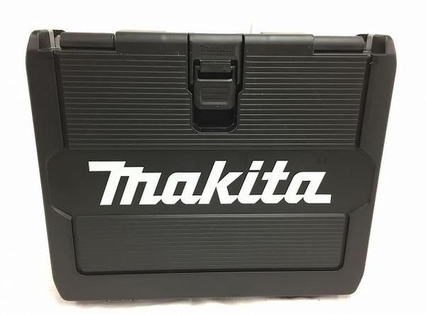 未使用 【中古】 makita マキタ TD171DRGX 充電式 6.0Ah インパクトドライバー 電動工具 ブルー T3540108