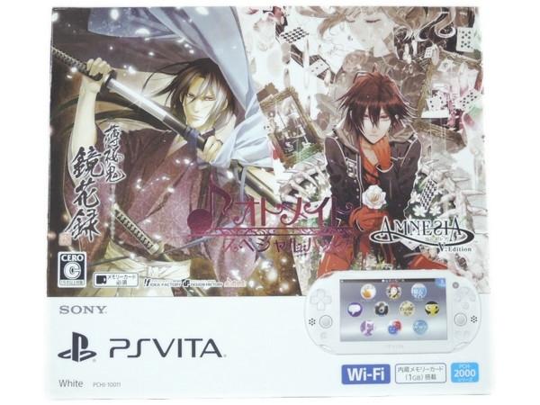 【スーパーセール】 未使用 【】 SONY PlayStation Vita PCHJ-10011 オトメイト スペシャル パック 薄桜鬼 AMNESIA Y2579160, 日中愛源 1eb903ed