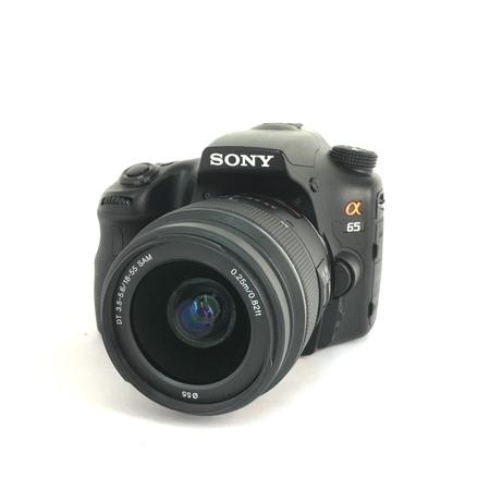 【中古】 SONY α65 18-55mm レンズ セット カメラ 趣味 コレクション Y3883127