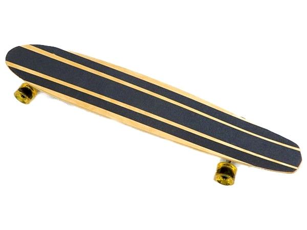 【中古】 VETERAN CLASSIC ベテラン クラシック #1388 ハワイコア 45インチ ロングスケートボード ハンドメイド Y3711435