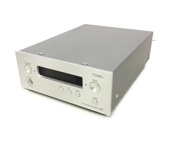 特売 【】 良好 ONKYO オンキョー DAC-1000(S) D/Aコンバーター シルバー オーディオ K4531526, トミソン e296ff04