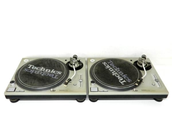 【中古】 中古 Technics SL-1200MK3D ターンテーブル シルバー 2台セット レコード プレーヤー テクニクス F3642865