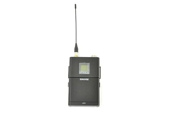 未使用 【中古】 SHURE UR1 J L3HK ボディパック トランスミッター ワイヤレスシステム T3034048