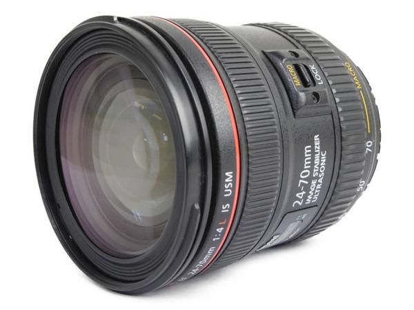 【中古】 Canon ズームレンズ EF 24-70mm f4 L IS USM カメラ レンズ N3518921