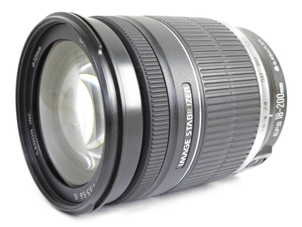 【中古】 Canon EFS 18-200mm f3.5-5.6 IS ズームレンズ N3524135