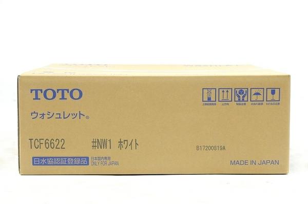 未使用 【中古】 TOTO ウォシュレット SB TCF6622 #NW1 ホワイト 温水洗浄便座 T5184189