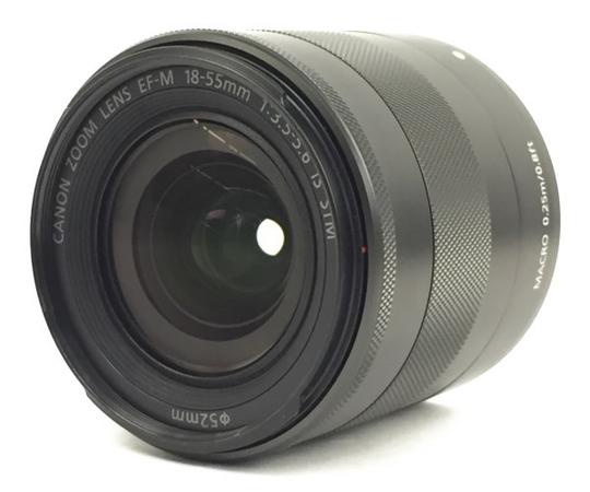 【中古】 CANON キャノン EF-M 18-55mm f3.5-5.6 IS STM レンズ N3888702