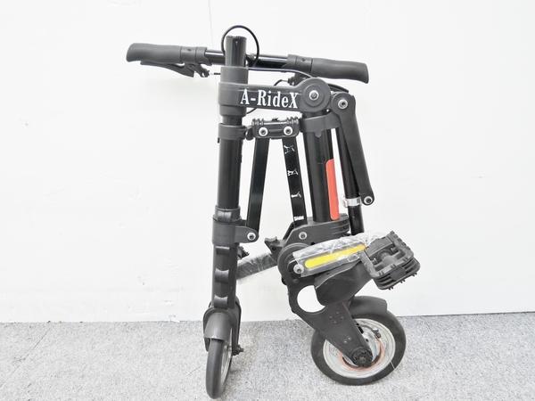 A-RideX コンパクト 折り畳み自転 収納バック付 O1852387:ReRe(安く買えるドットコム)
