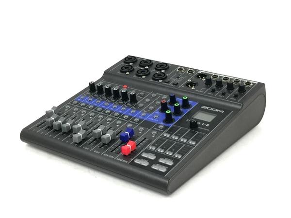 受注生産品 中古 ZOOM LiveTrak ショップ L-8 デジタルミキサー ズーム 8ch 音響 良好 T5845555
