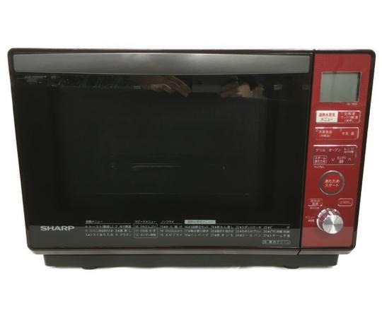 【中古】 シャープ 加熱水蒸気 オーブンレンジ レッド系 RE-T820-R S5173720