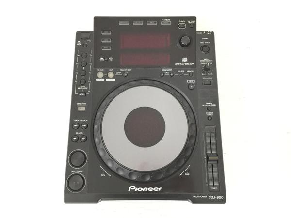 【中古】 Pioneer パイオニア CDJ-900 CDプレイヤー DJ機器 音響 中古 O4914288