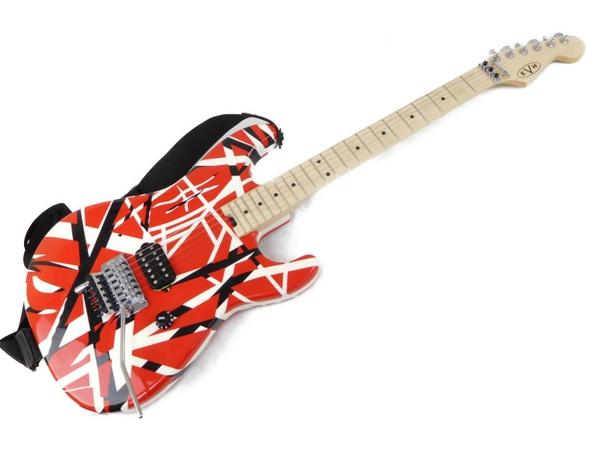 美品 【中古】 EVH Striped Series Red with Black Stripes エレキギター N3662599