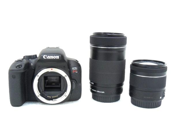 未使用 【中古】 Canon EOS Kiss X9i 一眼レフ カメラ 18-55 55-250 ダブル ズーム キット キヤノン M3906358