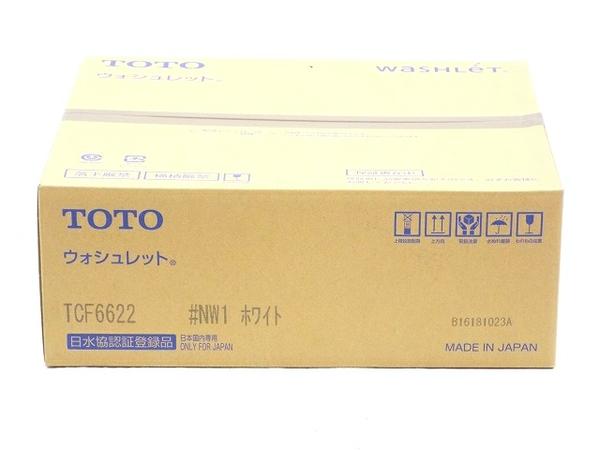 未使用 【中古】 未使用 温水洗浄便座 TOTO ウォシュレット TCF6622 #NW1 ホワイト T3525875