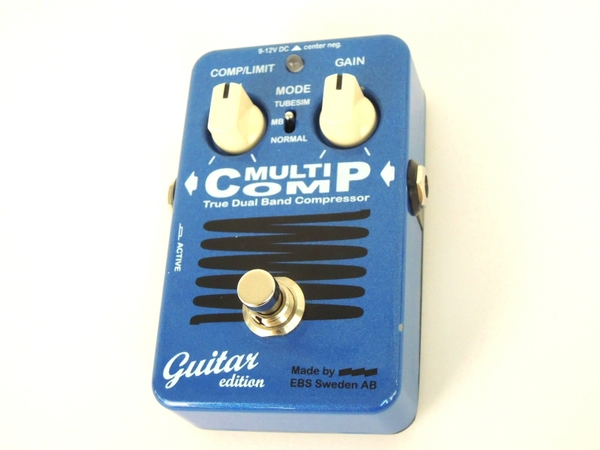 【中古】 EBS MULTICOMP guitar edition エレキギター用 エフェクター 機器 Y3336106