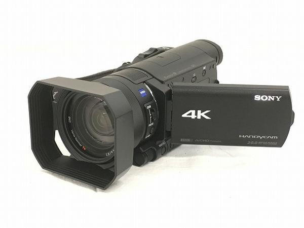 【中古】 SONY FDR-AX100 ビデオ カメラ ハンディカム ソニー W3901004