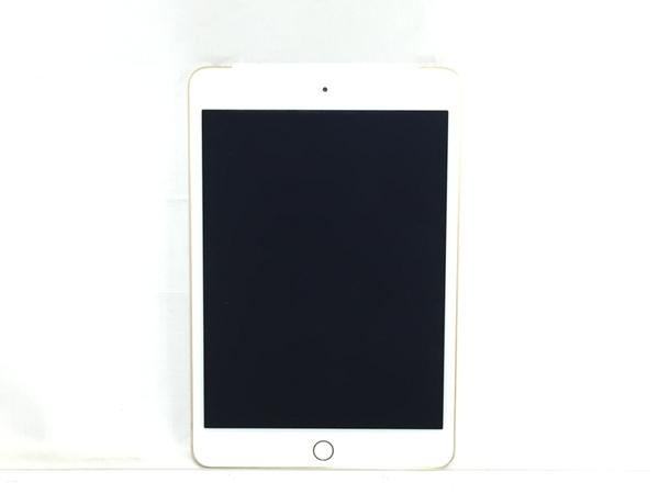 【中古】 良好 Apple iPad mini 4 MK712J/A WiFi + Celluar au 16GB 7.9インチ ゴールド タブレット T4500607