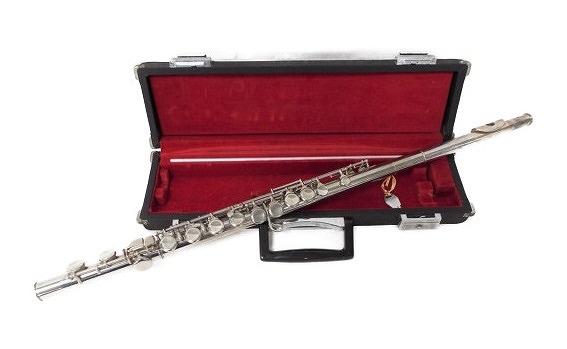 【中古】 Pearl パール フルート NS-97 カバード 管楽器 ケース 付 中古 W3483316