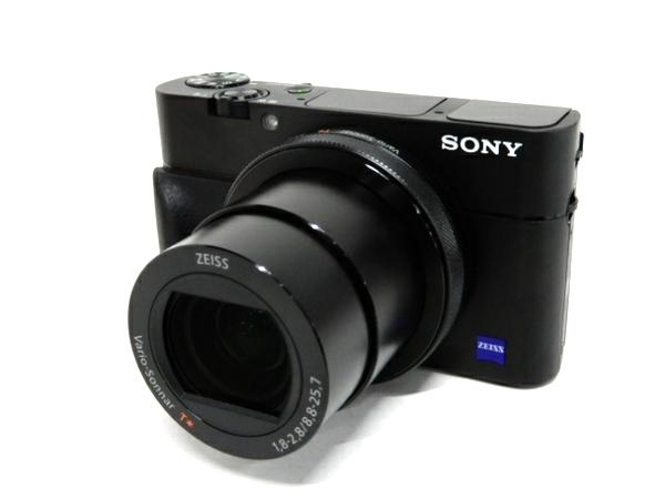 美品 【中古】 SONY ソニー Cyber-Shot サイバーショット DSC-RX100M5A デジタルスチル カメラ デジカメ ブラック 美品 F3892269