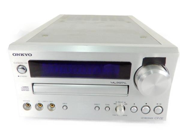 【中古】 ONKYO オンキョー CR-D2 CD レシーバー チューナー アンプ 音響 オーディオ 機器 Y3559839
