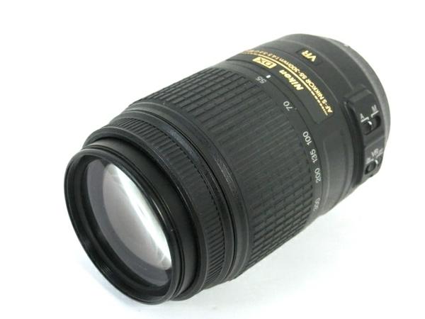 【中古】 NIKON AF-S DX NIKKOR 55-300mm f/4.5-5.6G ED VR レンズ 中古 M3668900