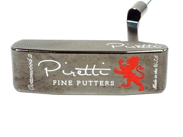 【中古】 ピレッティ piretti 375g コットンウッド2 ゴルフ パター T3866082