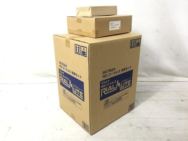 未使用 【中古】 リンレイ 907624 コードレス リアルミュート バッテリー 充電器 セット 掃除機 S4949326