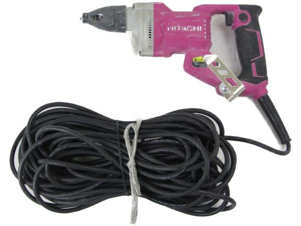 【中古】 日立工機 5mm ボード用ドライバ W5SE 100V 400W 定格30分 電動工具 N3666078