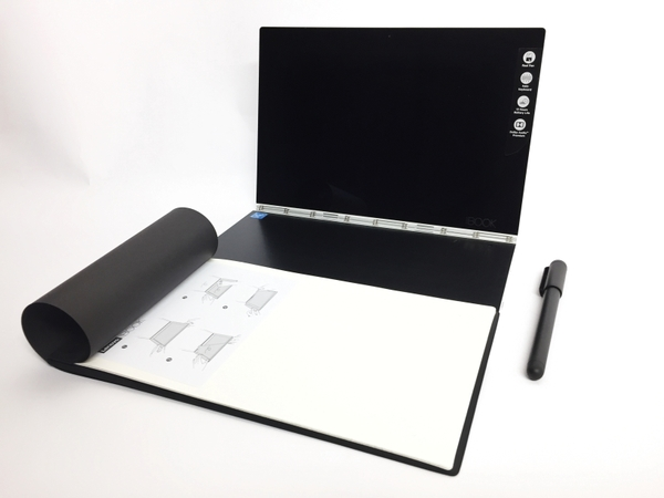 【中古】 LENOVO YOGA BOOK ZA160118JP 2in1 パソコン PC 10.1型 WUXGA Atom x5-Z8550 1.44GHz 4GB eMMC128GB Win10 Home 64bit LTEモデル T3874412
