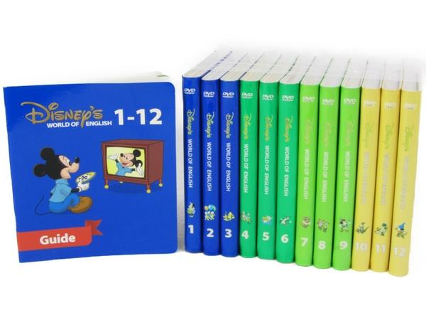 【中古】 ディズニーの英語システム ストレートプレイ こども英語 教材 2011年頃 N3663435