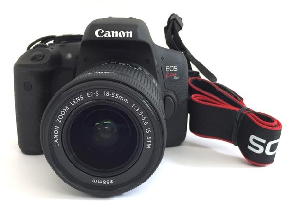 【中古】 Canon EOS KISS X8I EF-S 18-55 IS STM デジタル一眼 レンズキット T3666721