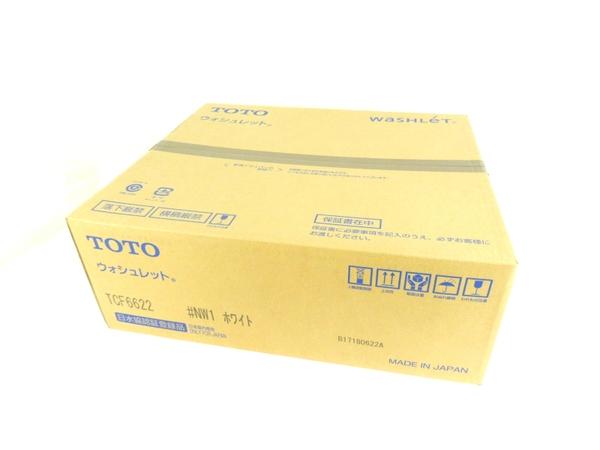 未使用 【中古】 TOTO TCF6622 ウォシュレット #NW1 ホワイト 温水 洗浄 便座 Y3474641