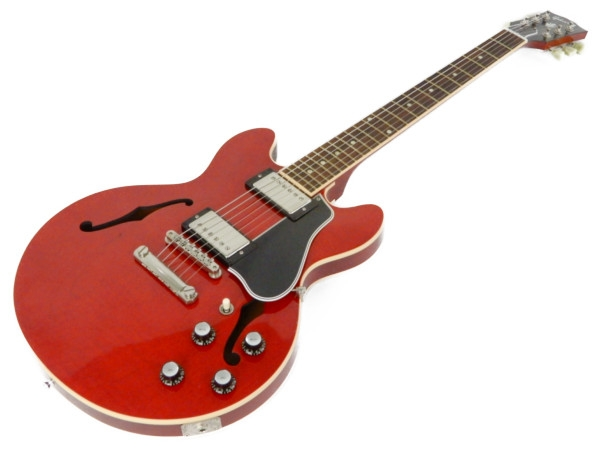 【中古】 Gibson ギブソン CUSTOM カスタム CS336F エレキ ギター ハードケース 付属 楽器 Y3472164