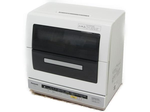 【中古】 Panasonic パナソニック NP-TR6 食洗機 食器洗い乾燥機 エコナビ 6人用 ホワイト 2013年製 【大型】 N3899293