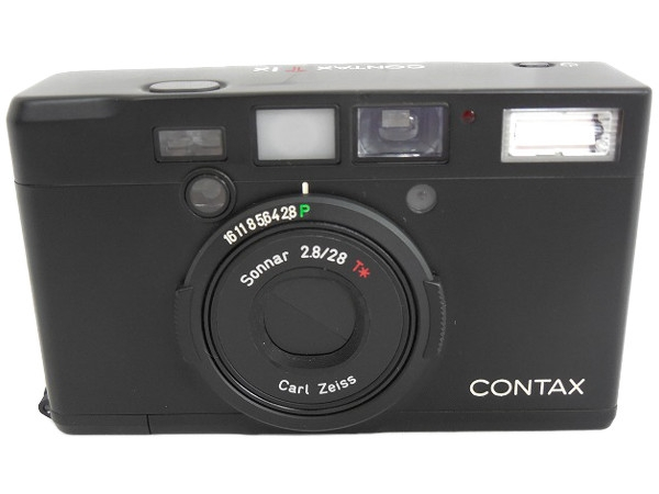 CONTAX Tix Black ブラック ボディ Sonnar 28mm F2 8 箱説 フィルム カメラT2312671iPuOXZkT