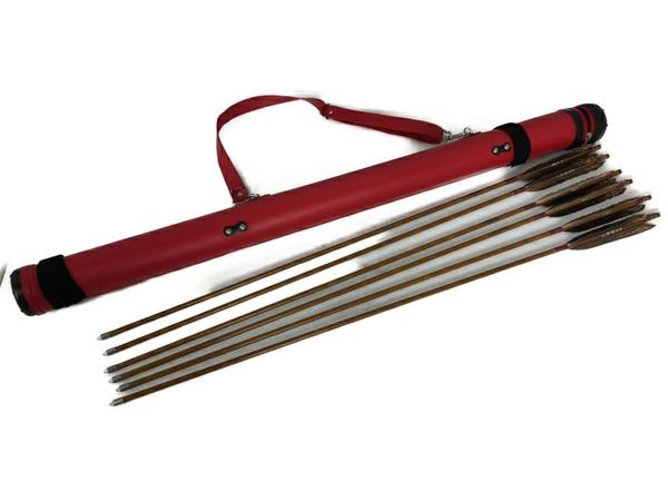 【中古】 EASTON KYUDO CARBON 80-23 6本 92.5cm カーボン矢 S3908645